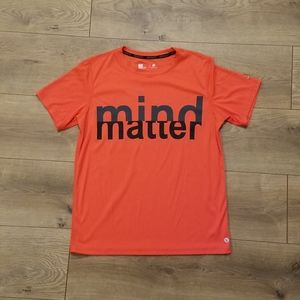 Xersion Mind Over Matter T-Shirt Orange {Boy's LG}